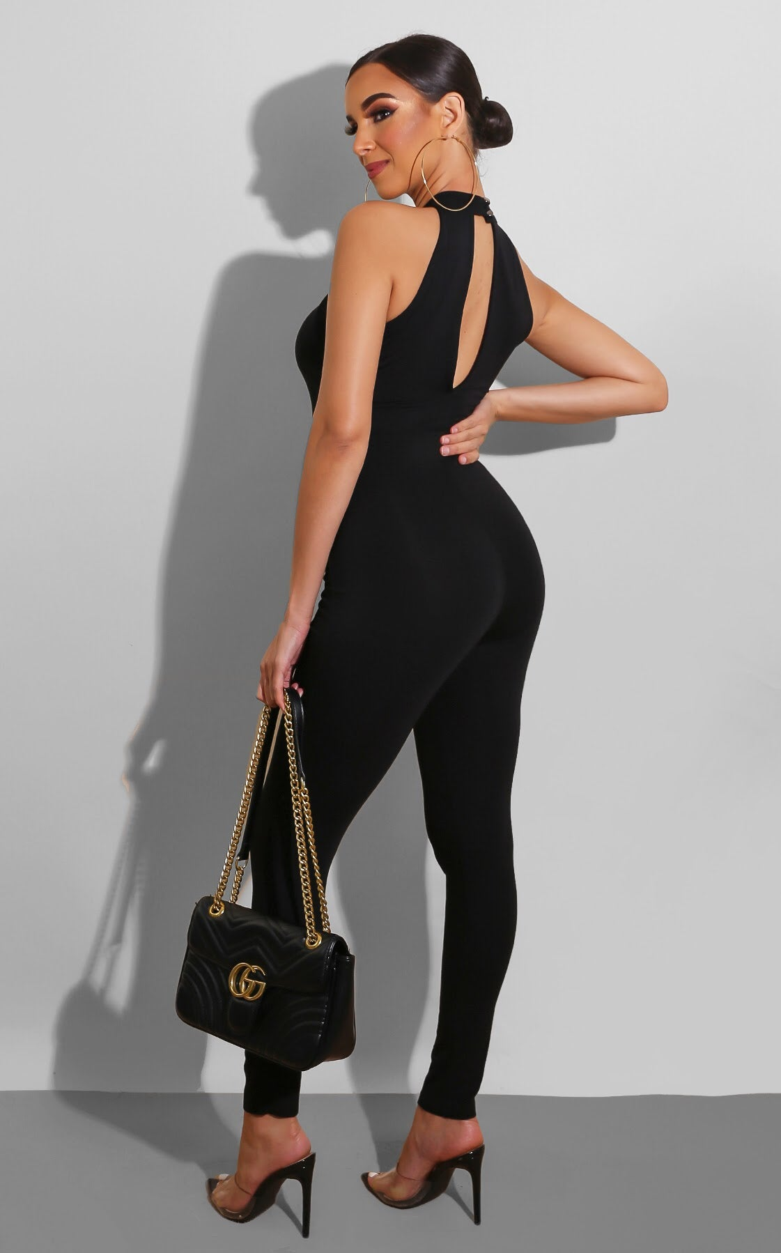 Caged Up Jumpsuit