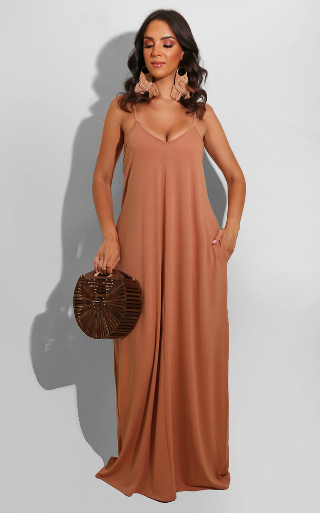 Invite Only Maxi Brown