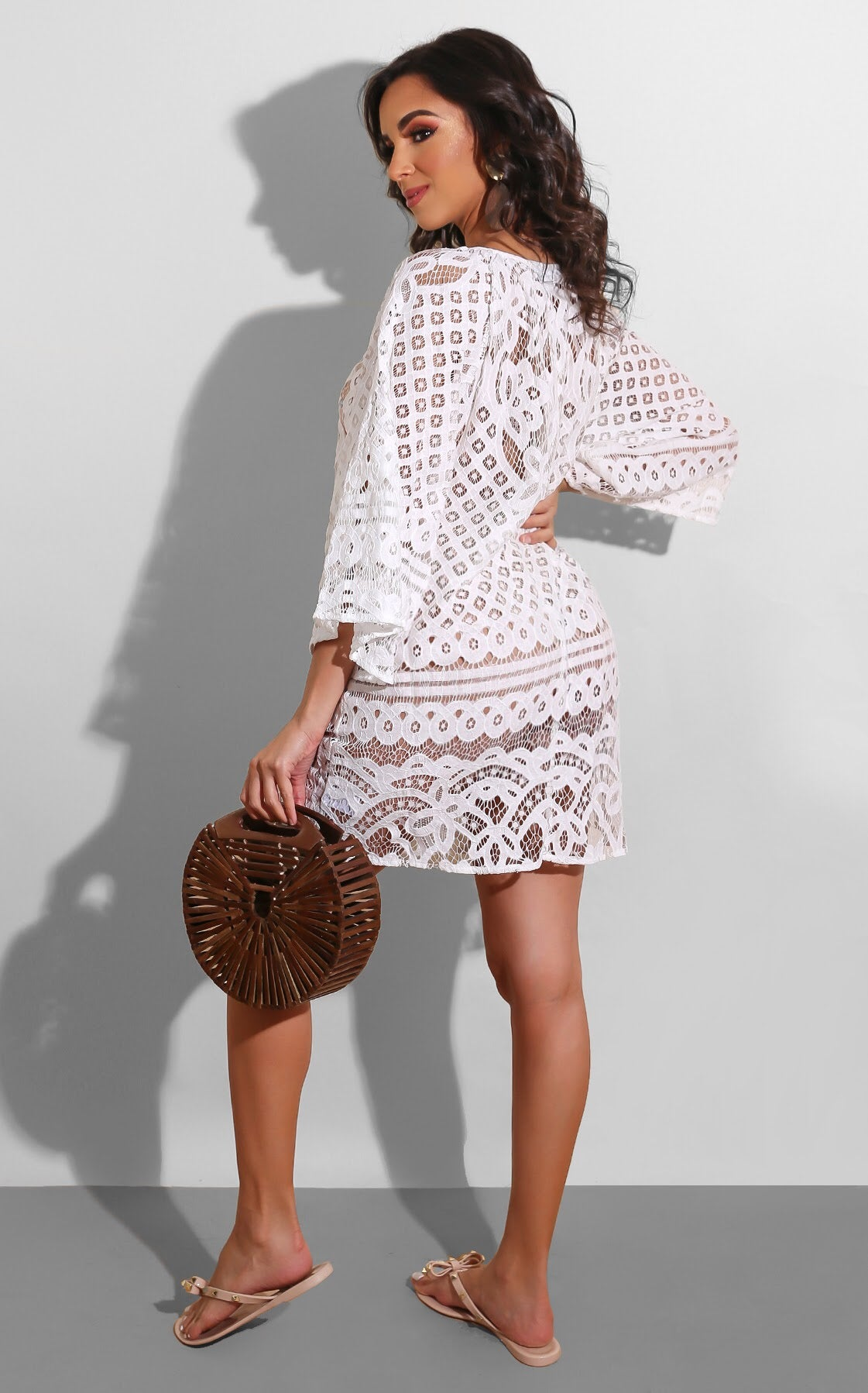 Lace Resort Coverup
