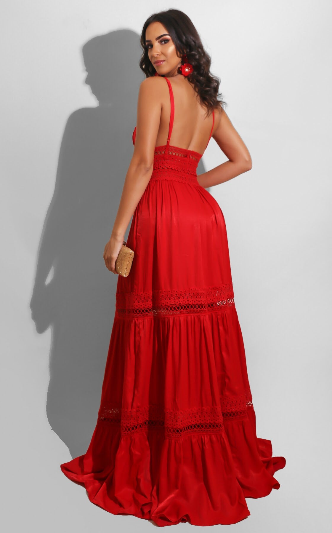 Country Summer Maxi Red