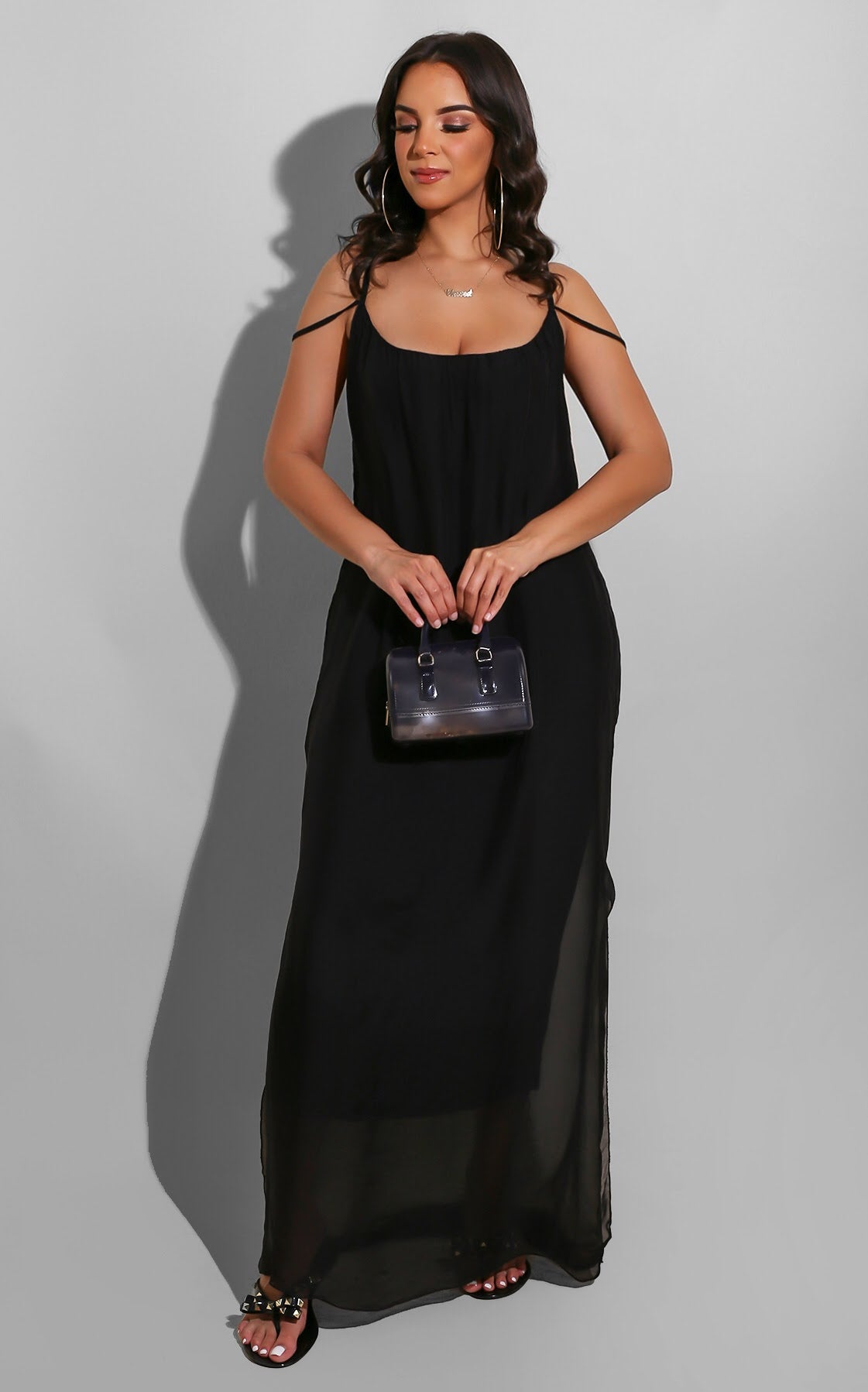 Flow With It Maxi Black