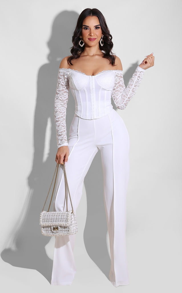 Tailored Bottoms White