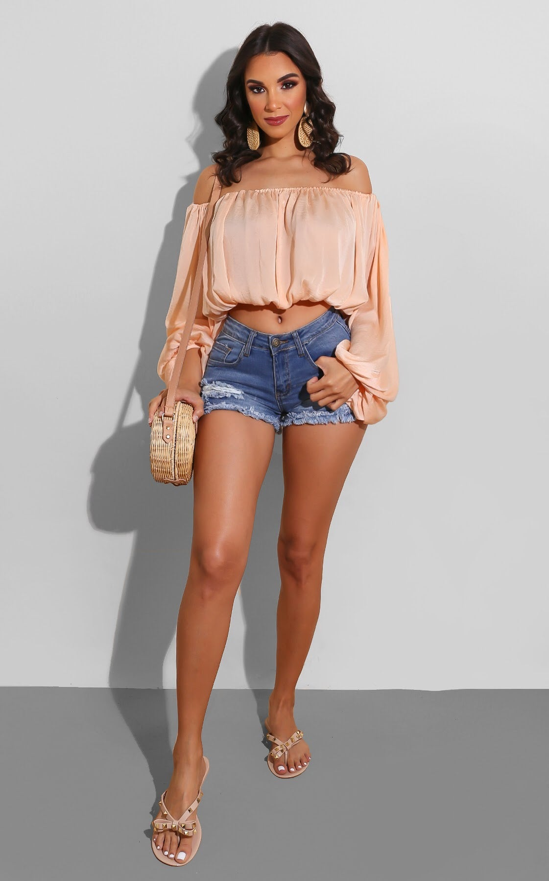 Ripped to Chill Denim Shorts
