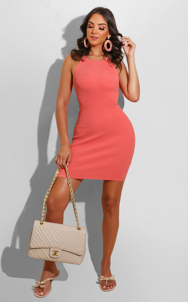 Ribbed Summer Color Mini