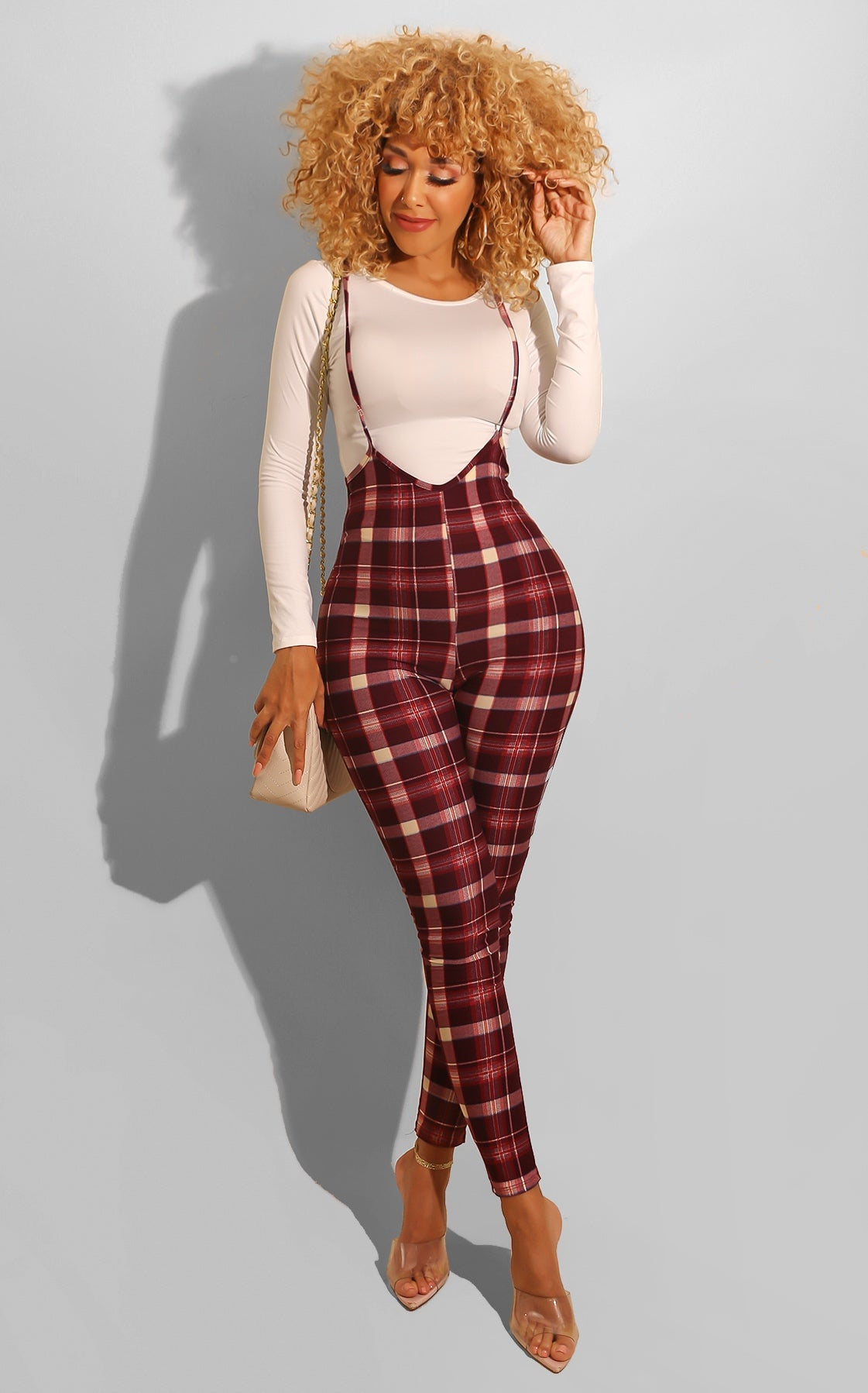Julissa Plaid Set