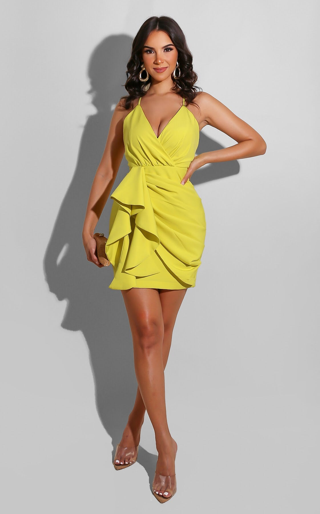 Summer Formal Mini Yellow
