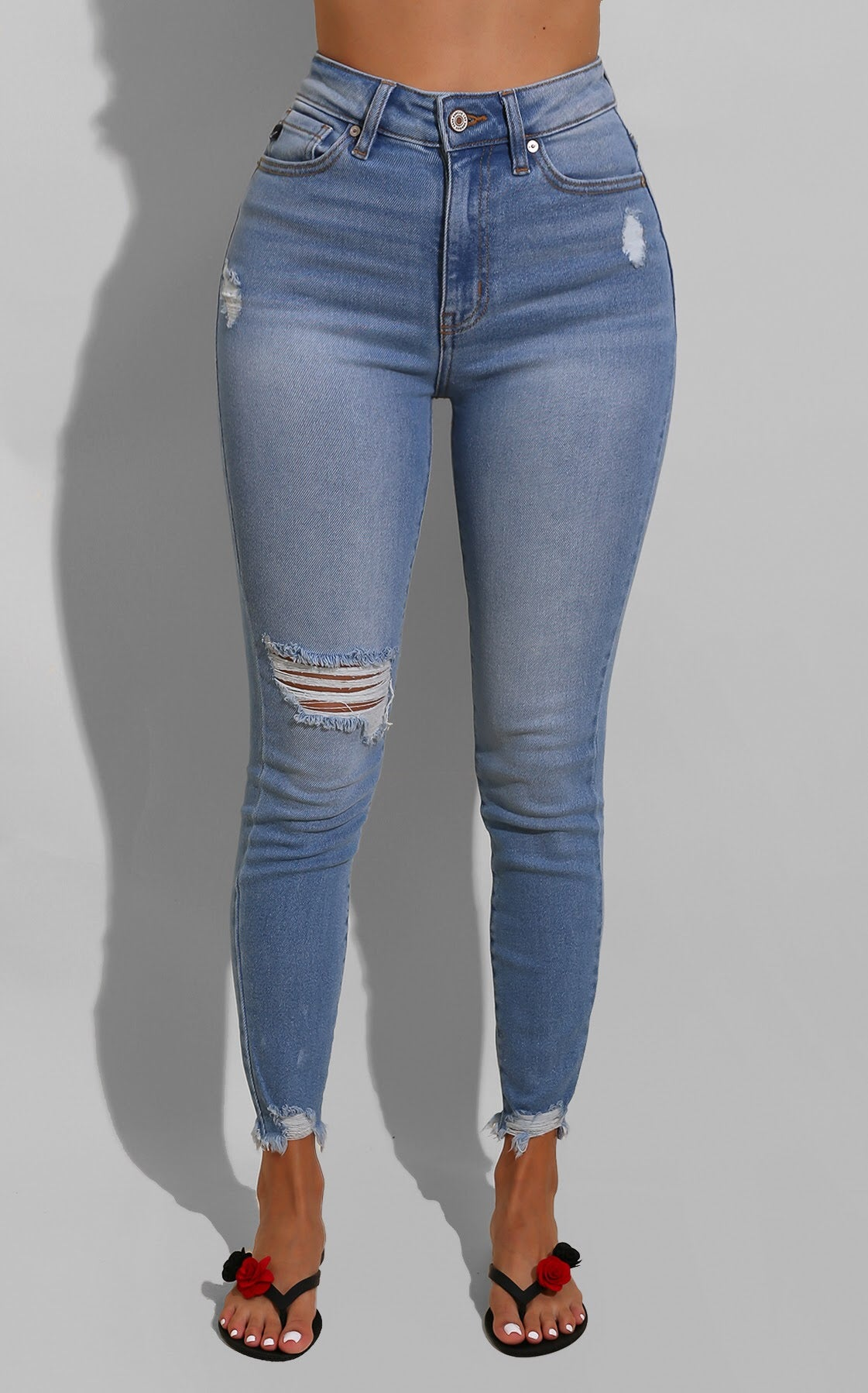 Claudia High Waist Denim