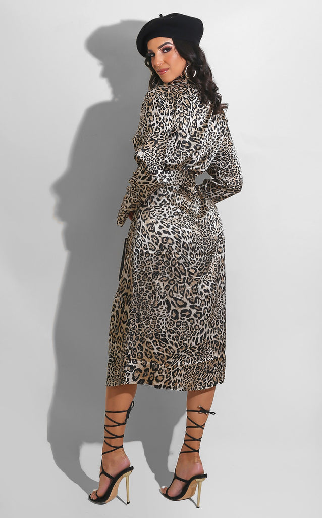 Lady Leopard Dress