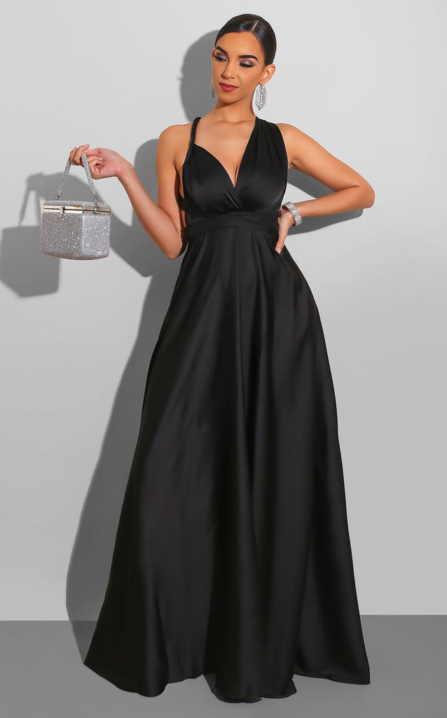 Endless Love Gown Black