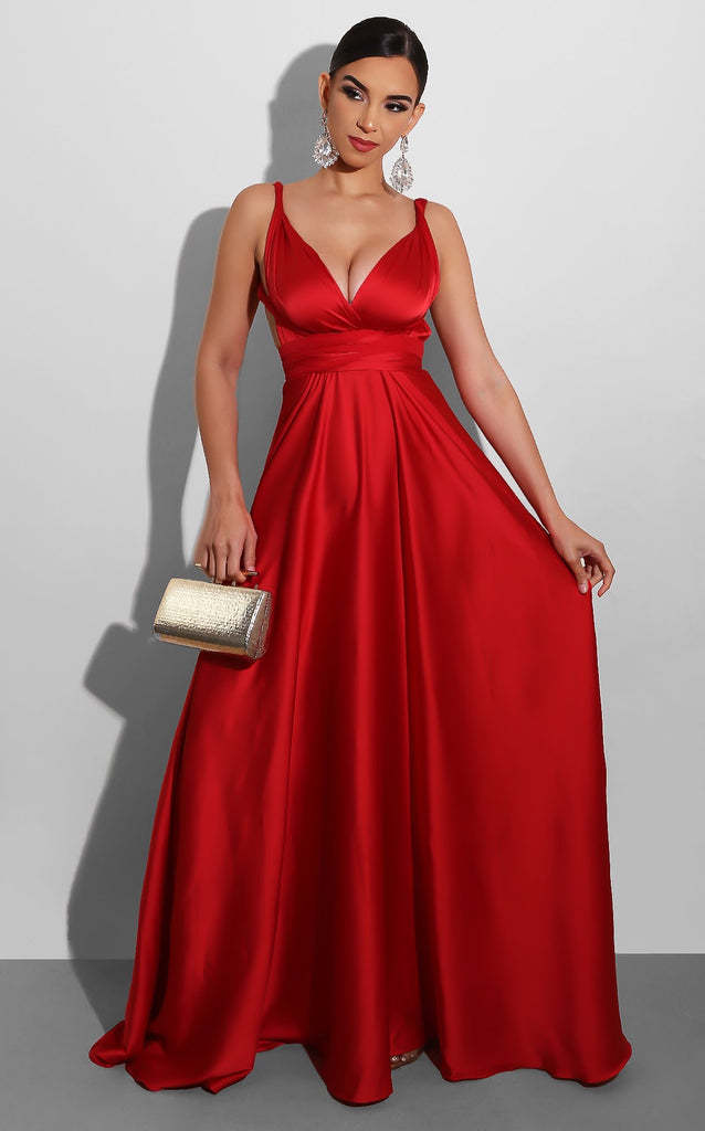 Endless Love Gown Red