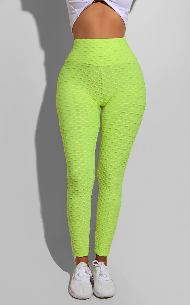 Gym Bottoms Neon Green