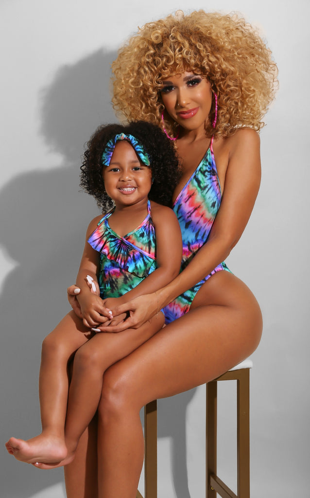 Mini Me Tie Dye Swimsuit