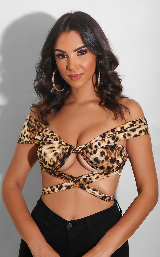 Leopard Endless Way Top