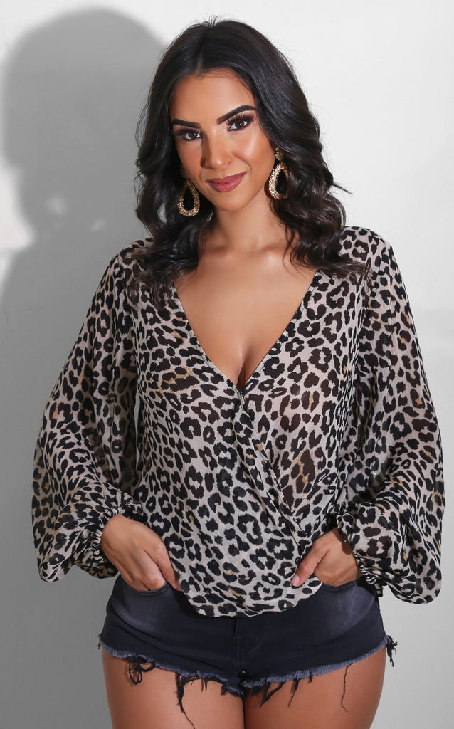 Leopard Loose Blouse