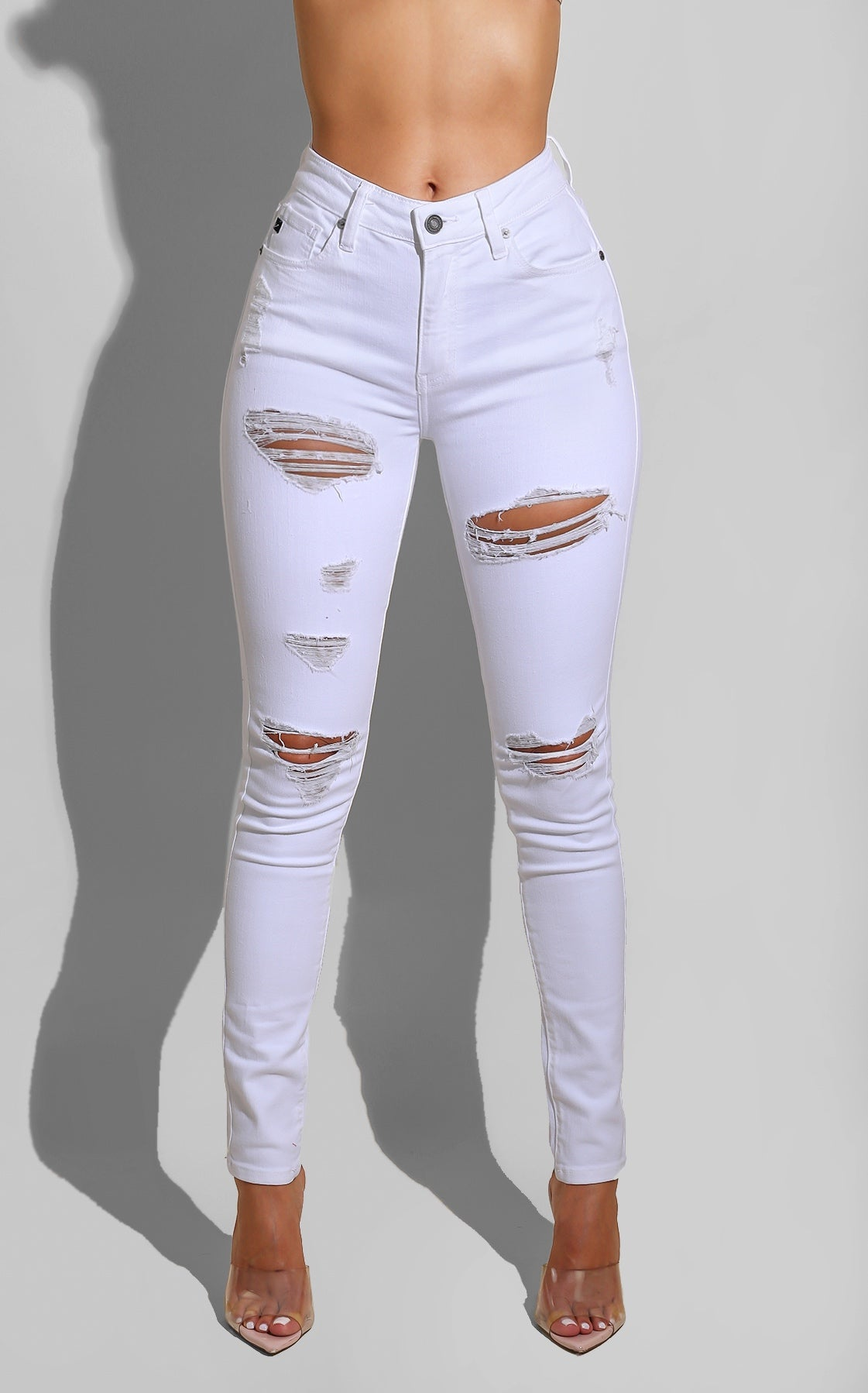 Hot White Denim
