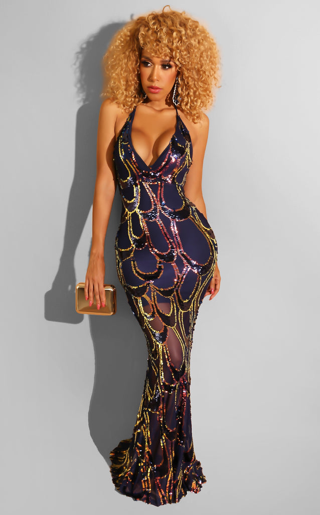Luxe Sequin Gown