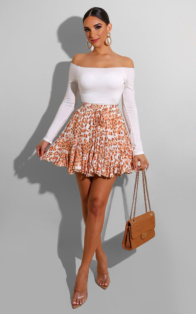 Safari Flowy Skirt