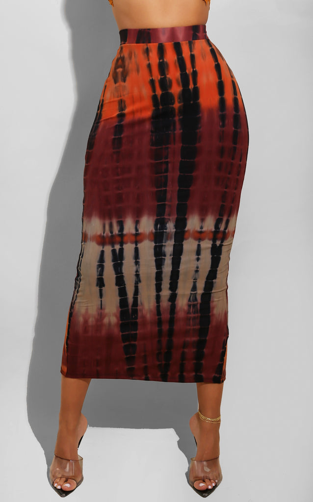 Brownie Tie Dye Skirt
