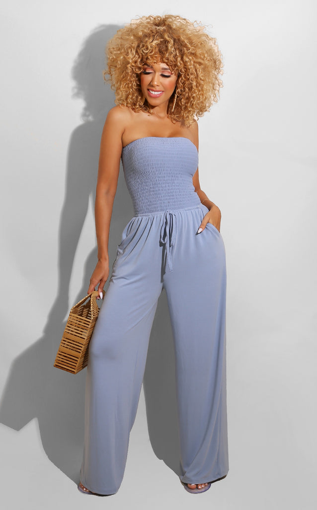 Every Shape Jumpsuit Blue