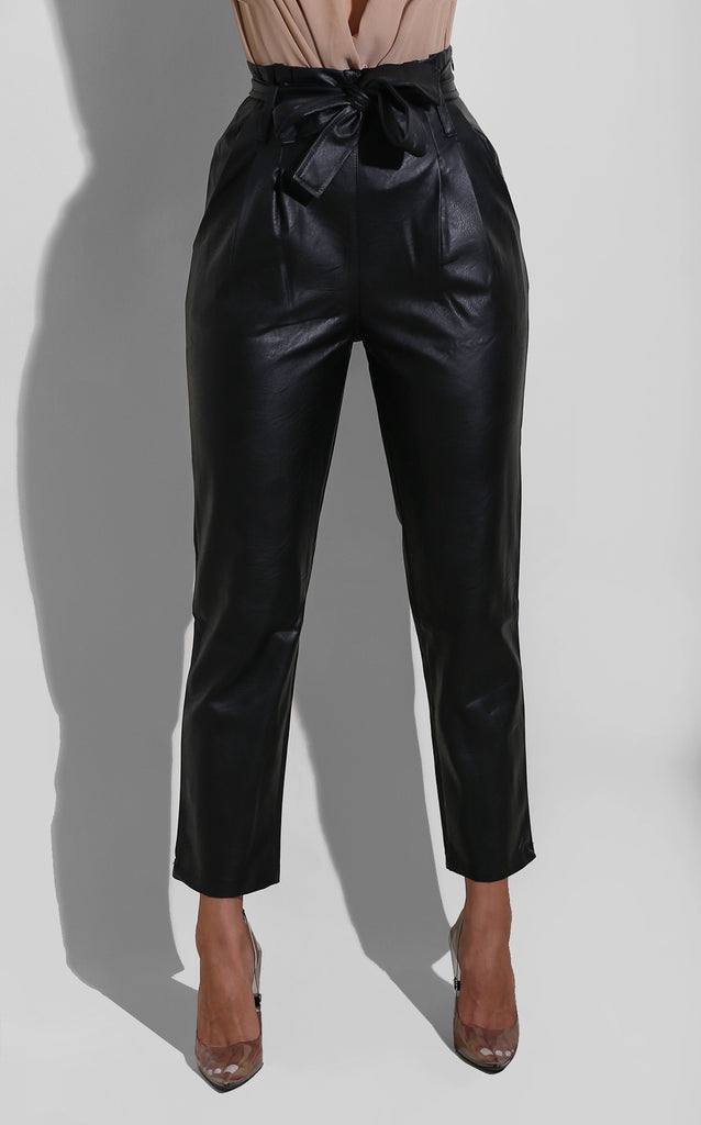 Winter Pleather Trouser
