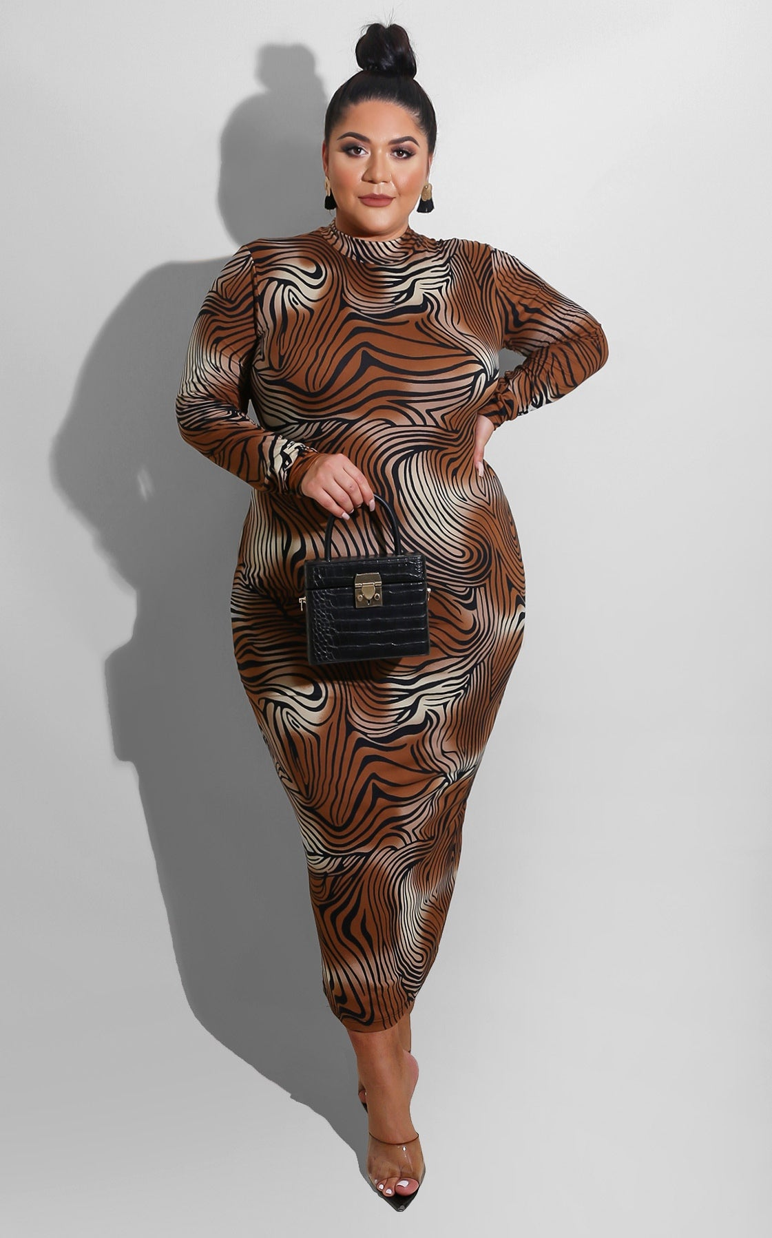 Curvy Queen of the Pack Midi