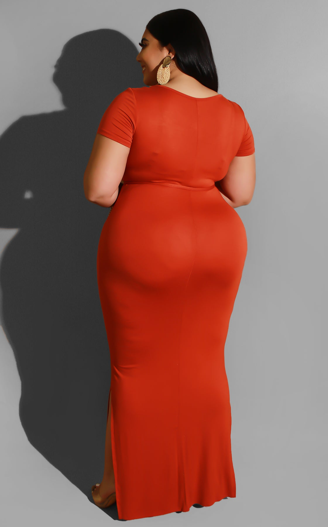 Curvy Chasing You Knot Dress