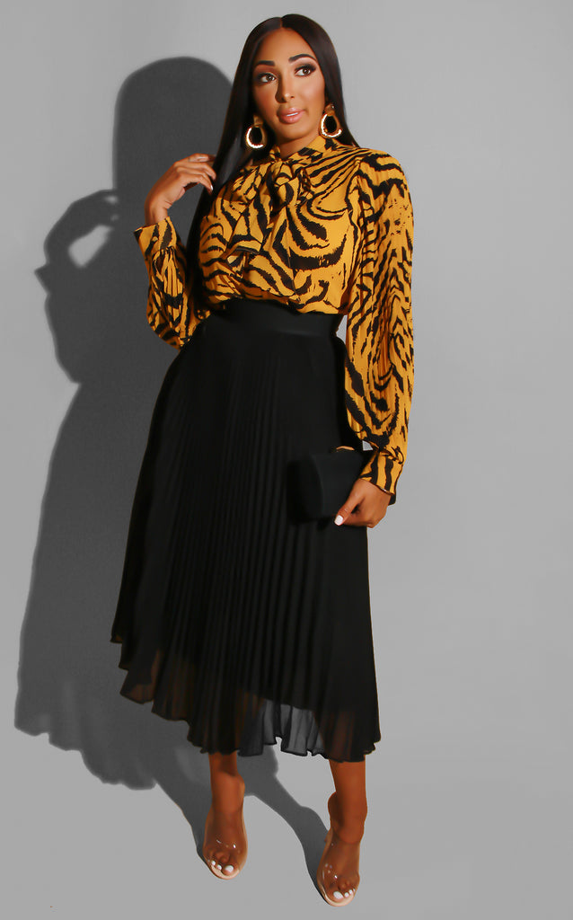 Tiger Eyes Blouse