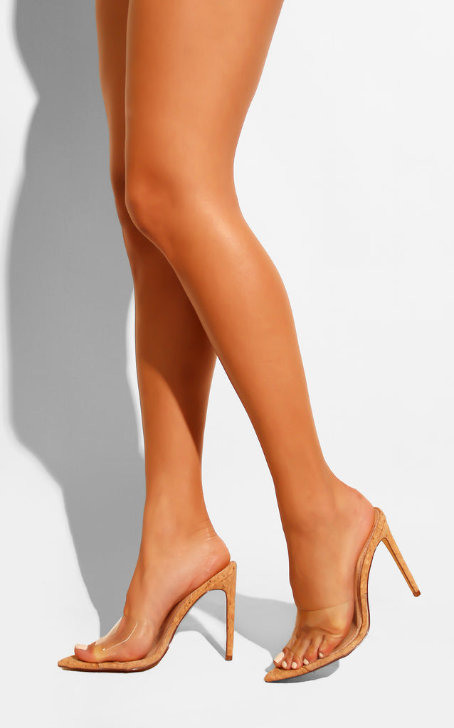 Sass Clear Mules
