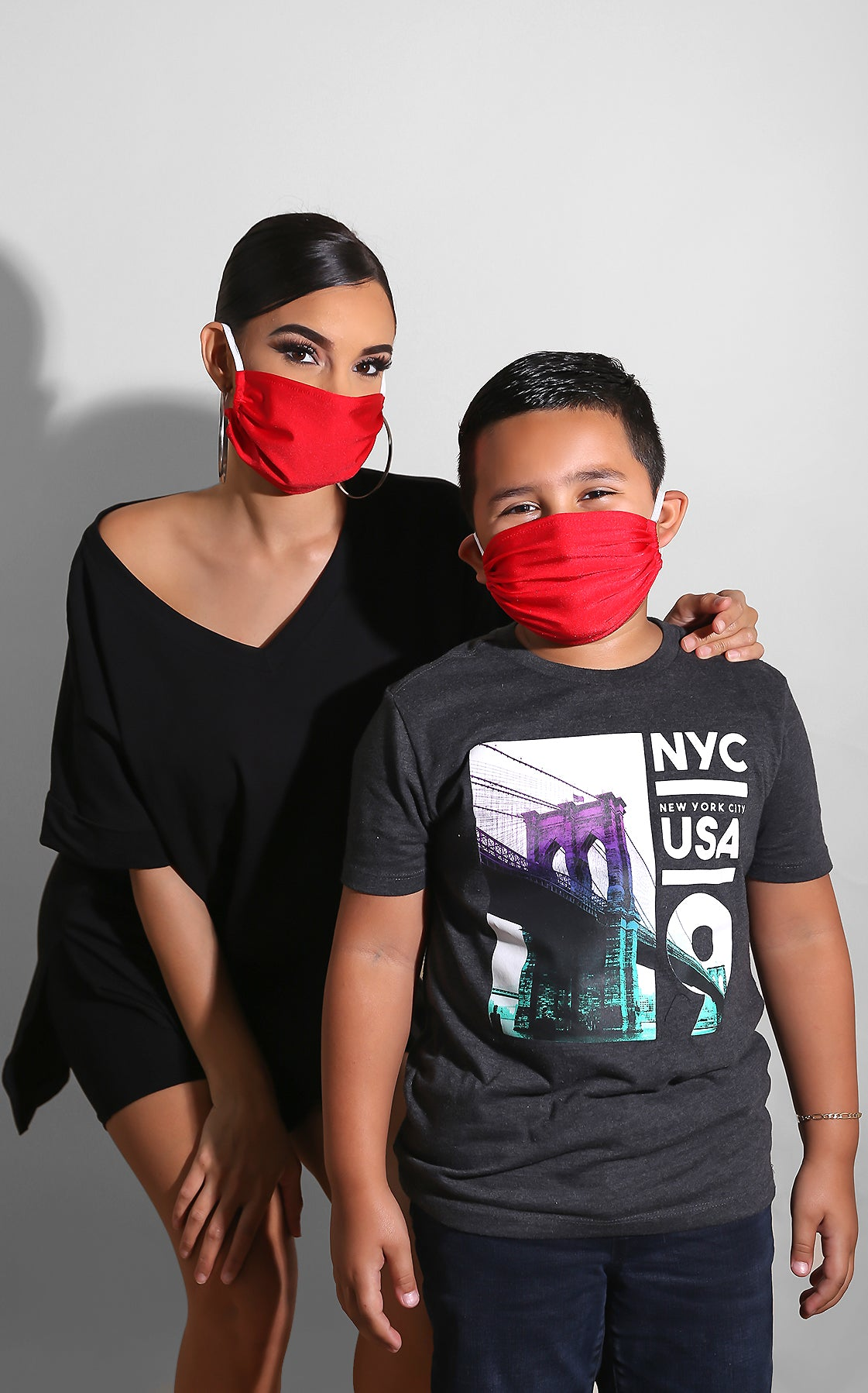 Red Unisex Face Mask