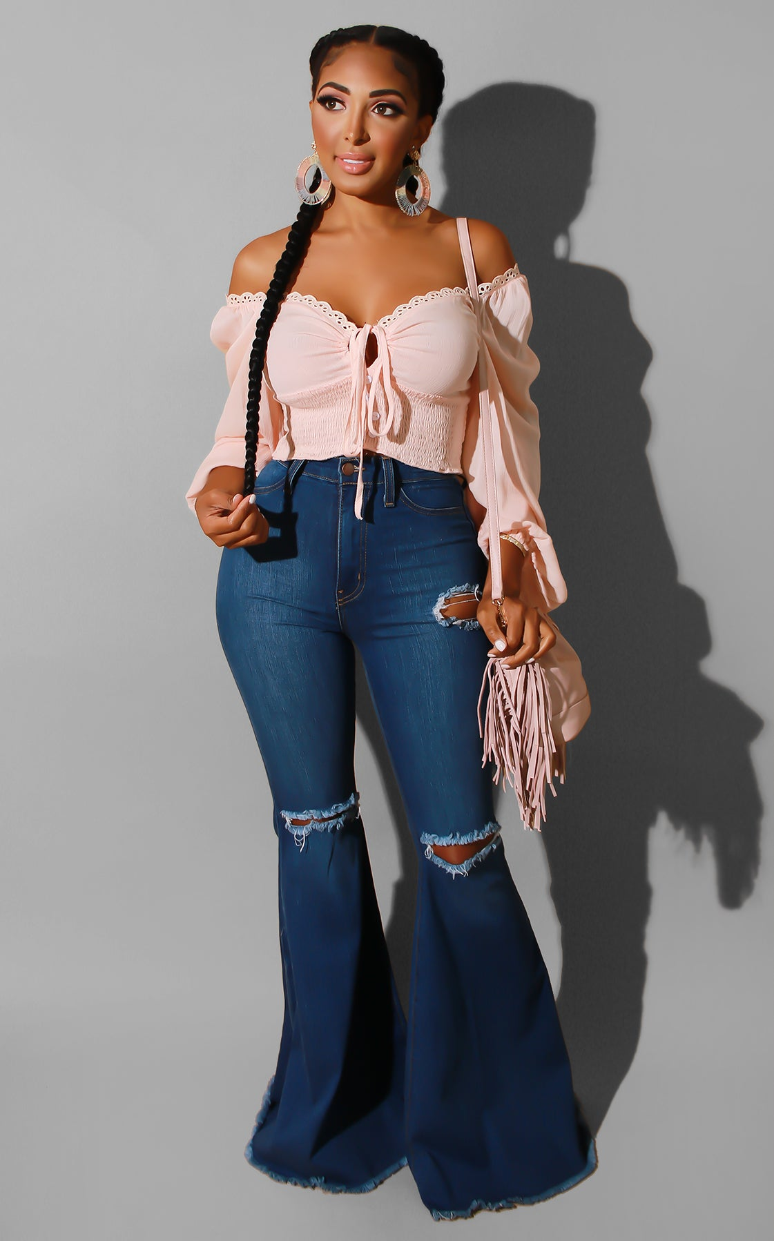 Peach Dreams Top