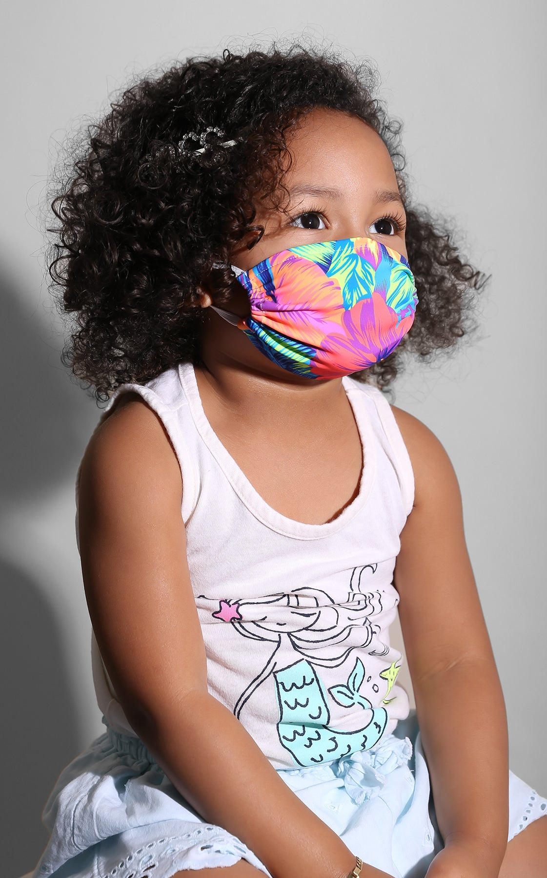 Mini Me Wild Hawaii Face Mask