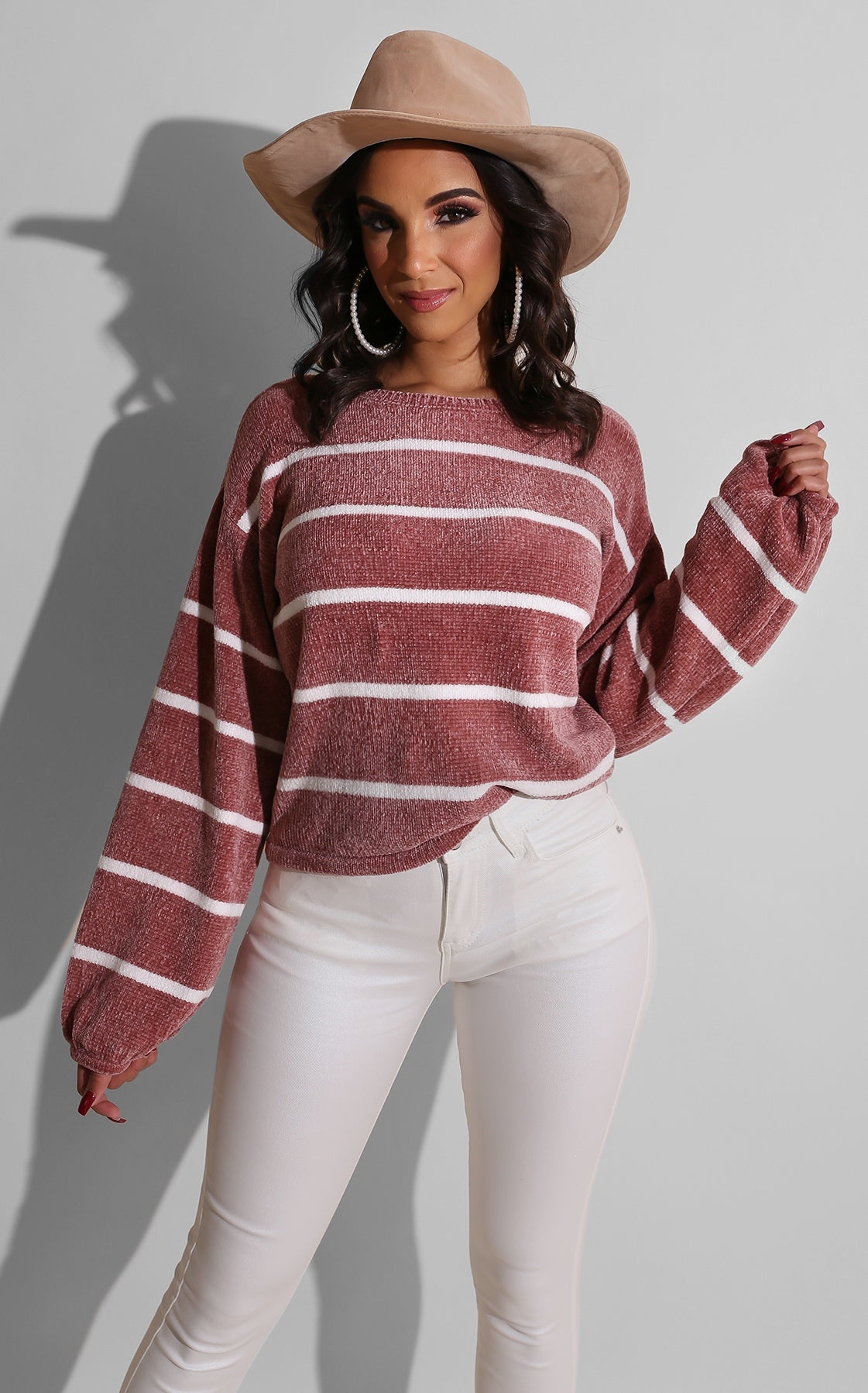 Sister Cozy Sweater Blush
