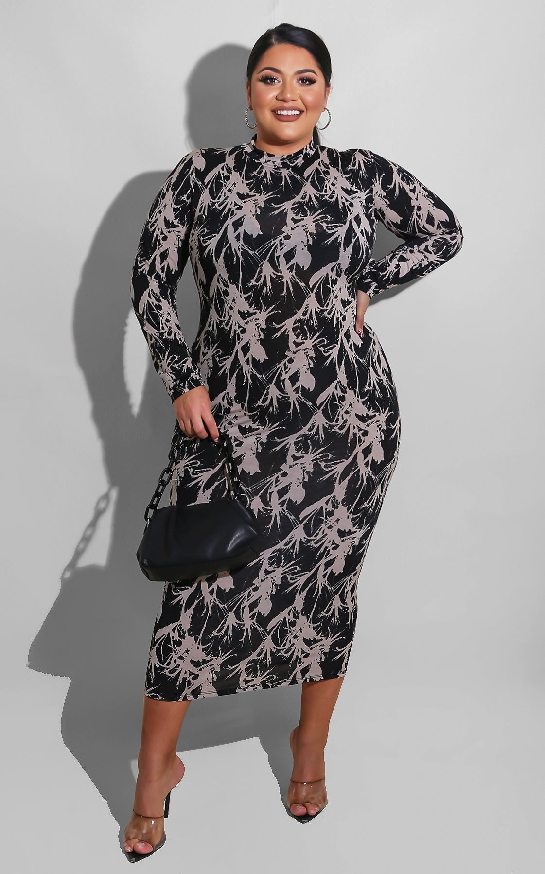 Curvy Unique Eve Midi