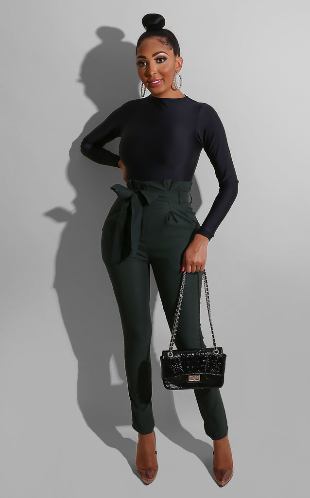 Such A Doll Trousers Green