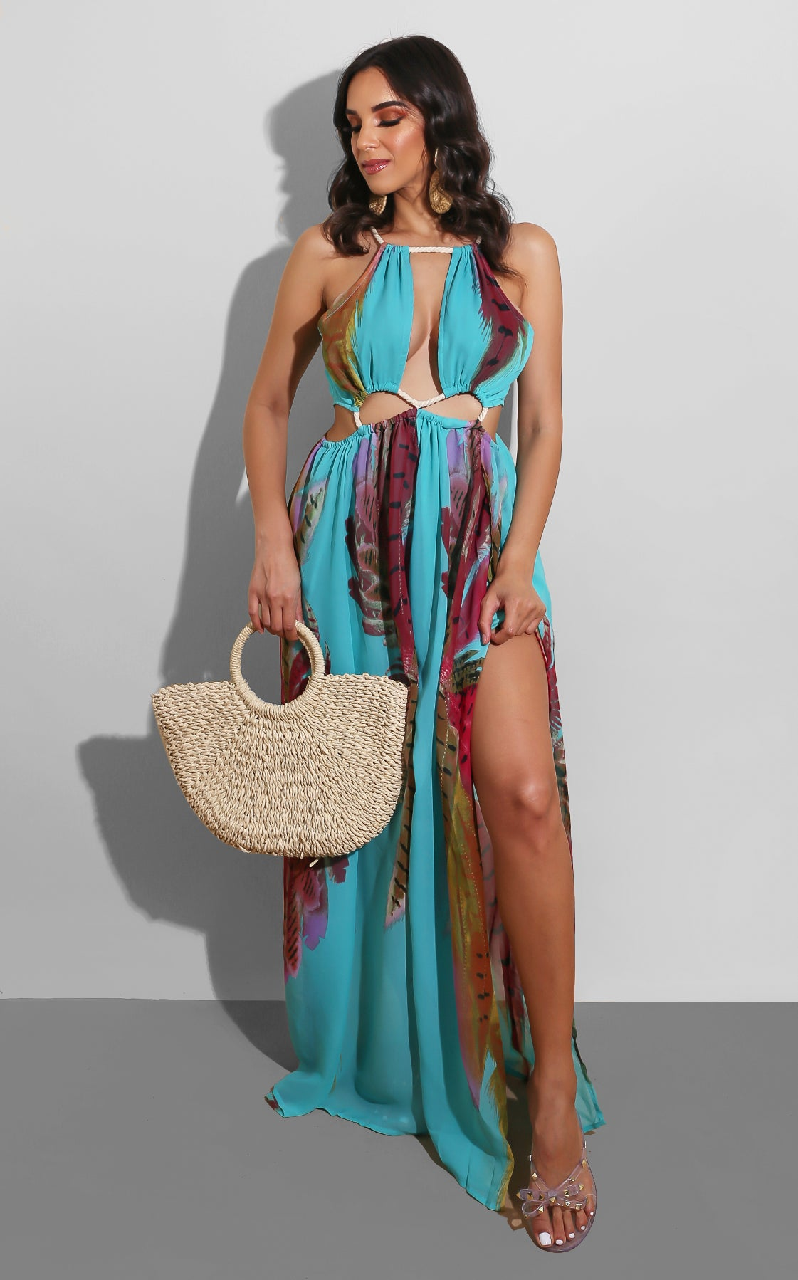 Feathers and Rope Maxi