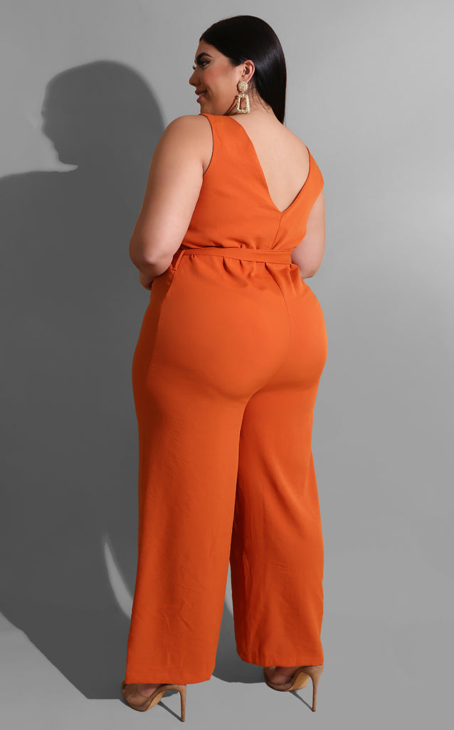 Curvy Thanks and Give Jumpsuit