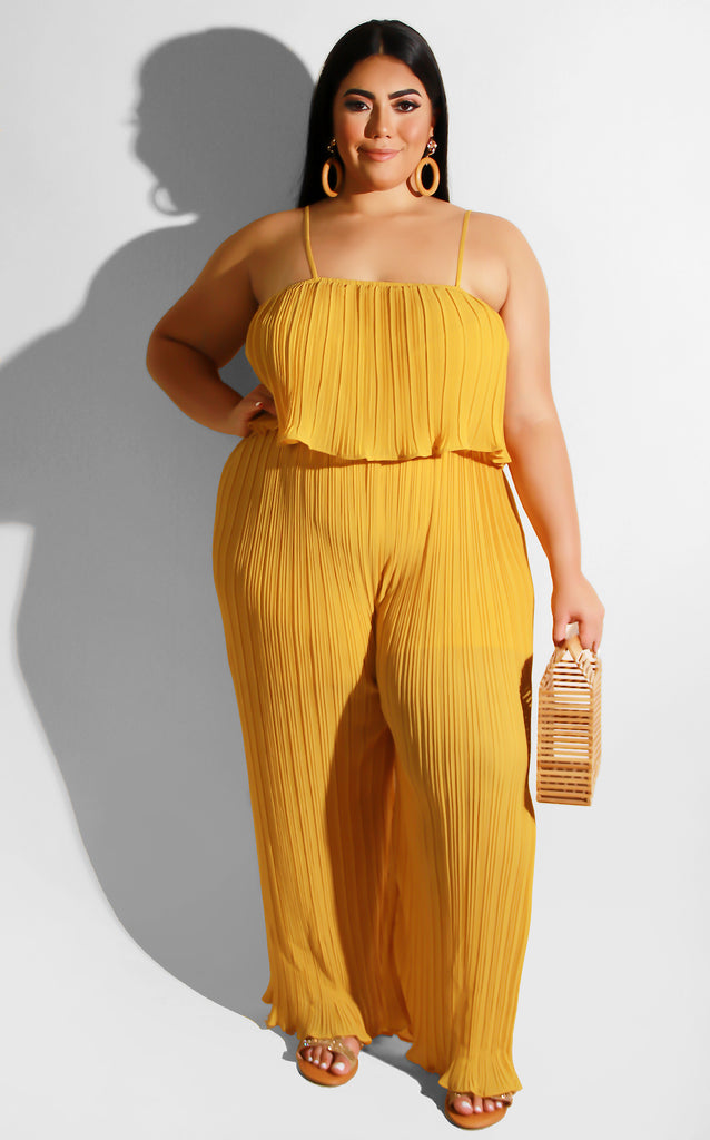 Curvy When I Walk In Jumpsuit