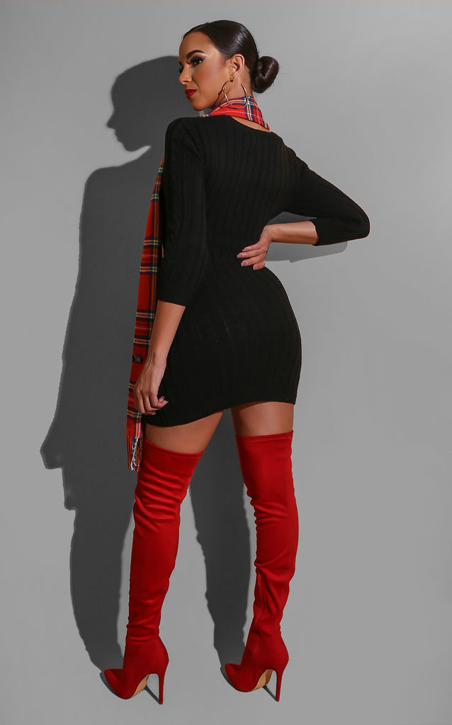 Take me to Vail Sweater Dress