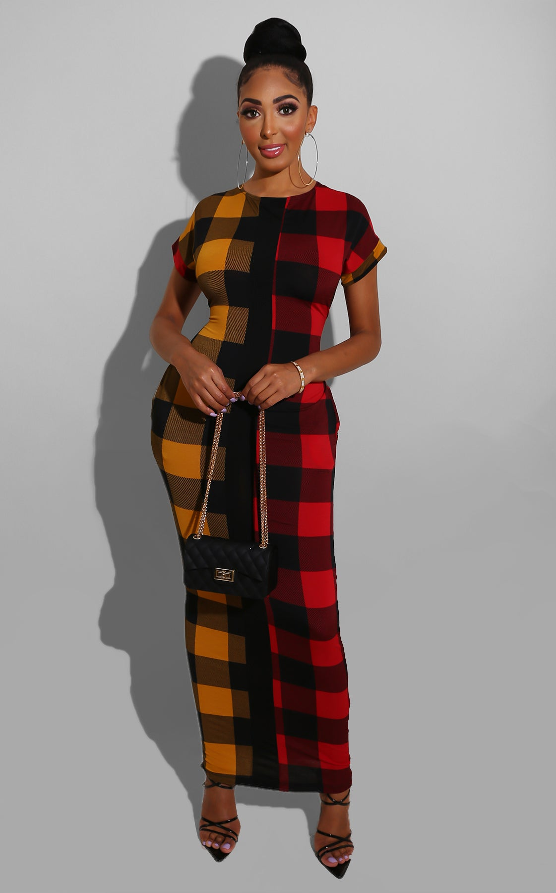 Favorite Plaid Midi