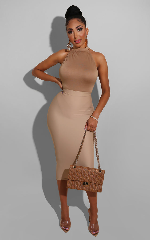 Deliano Nude Skirt