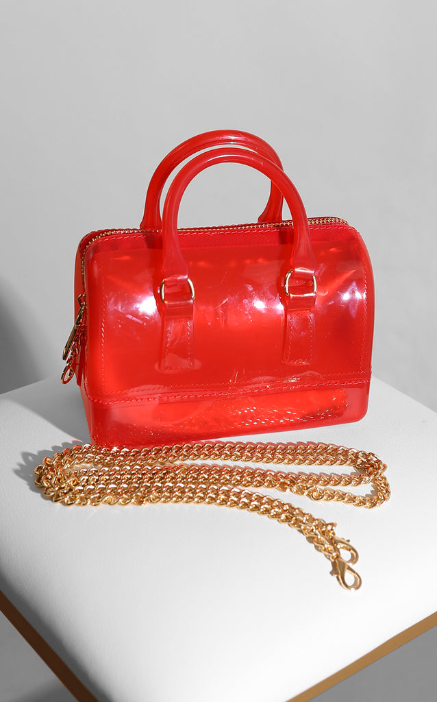 Jelly Bean Handbag Red