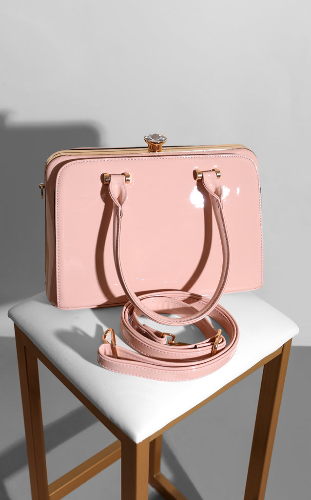 Latch Blush Too Handle Bag