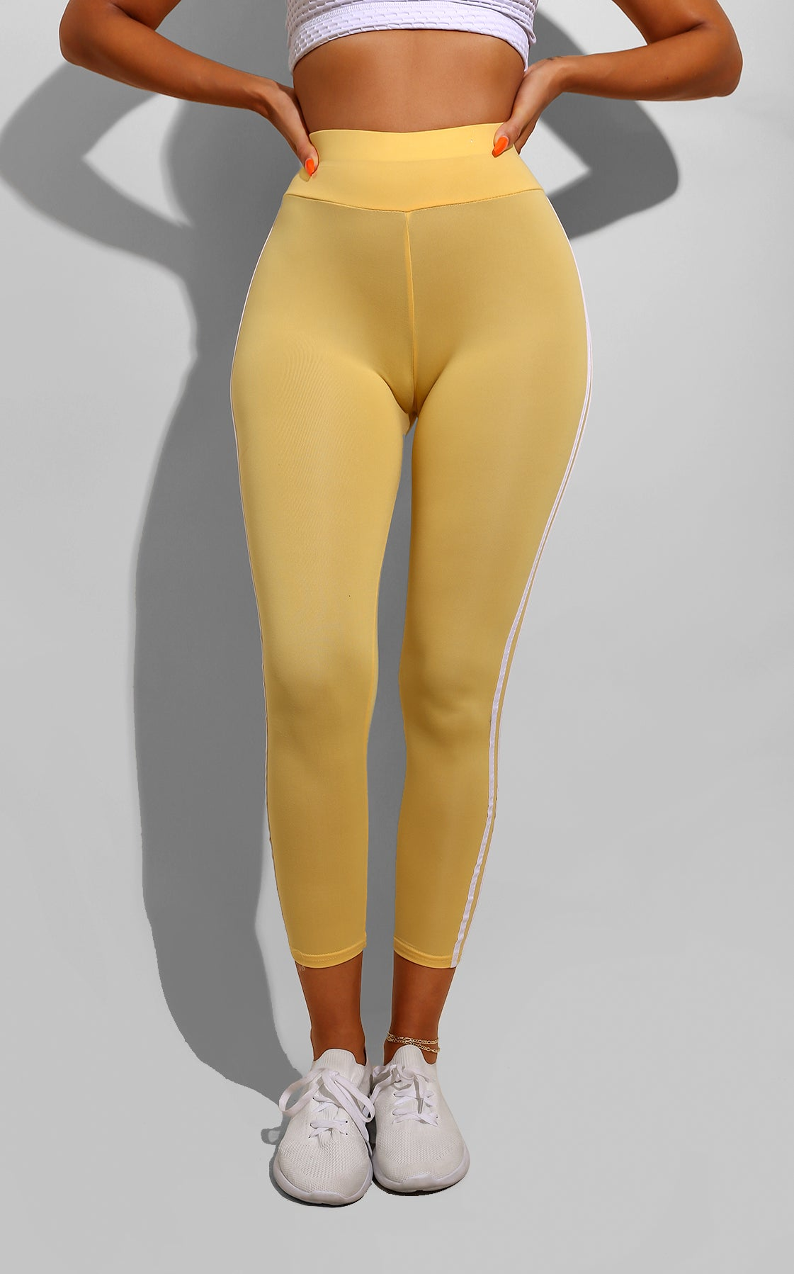 Side Line Track Pants Yellow