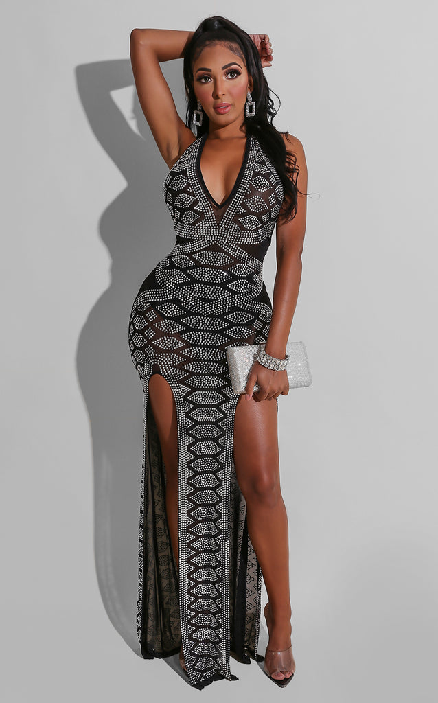 Vixen Jeweled Gown