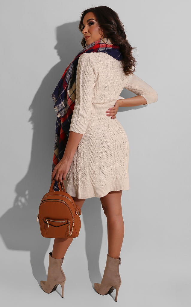 Sweet Doll Sweater Dress