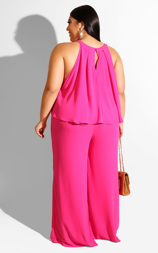 Curvy Pleated Day Set