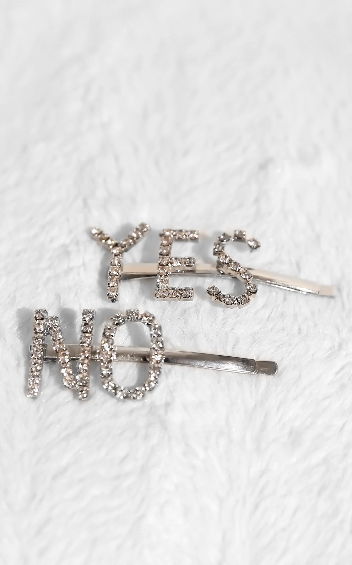 Say Yes or Say No Hair Clips