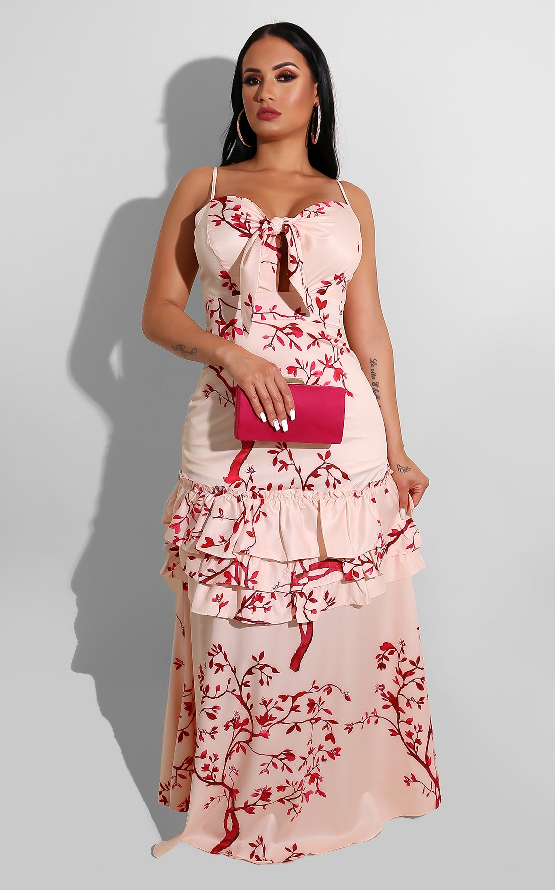 Cherry Bloom Maxi