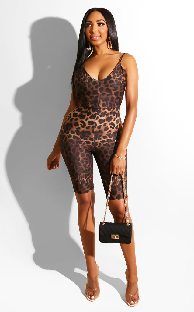Dare to Leopard Romper