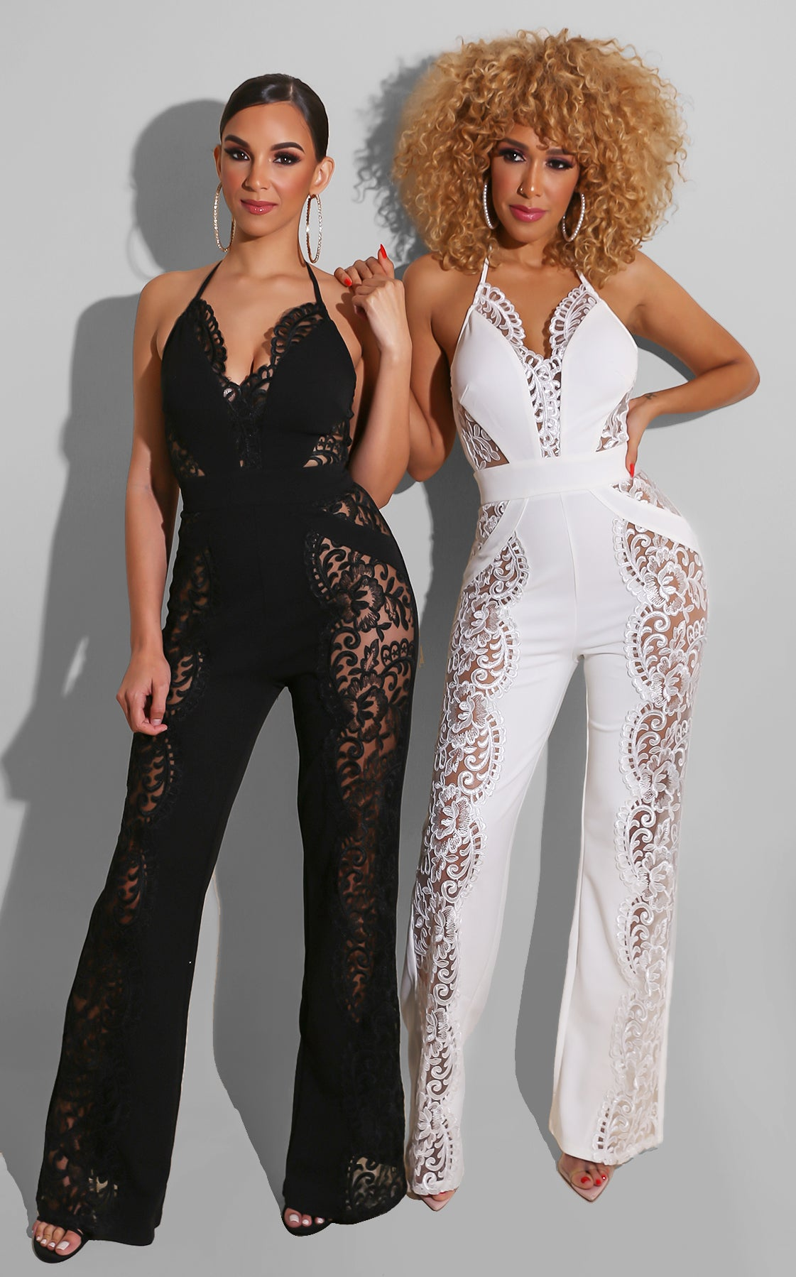 Romeo and Juliet Jumpsuit White
